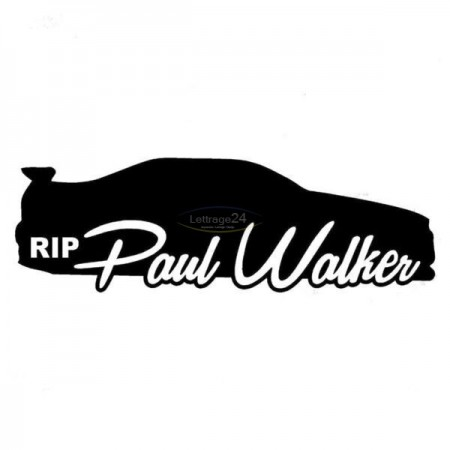 RIp.Paul Walker Sticker