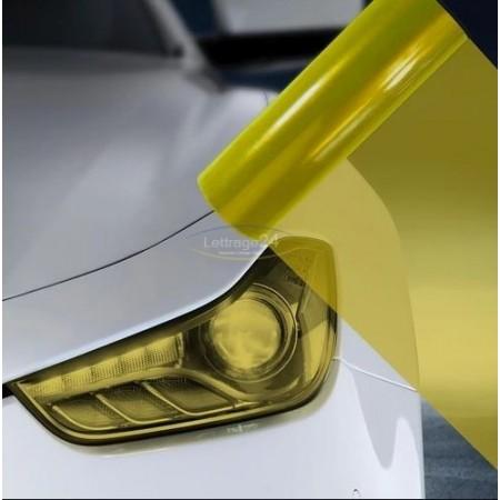 Vinyl teinté jaune