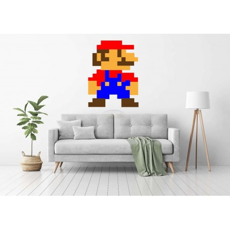 Pixel Mario Wall decor