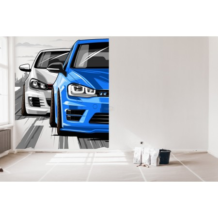 vw mk6 & mk7 wall decor
