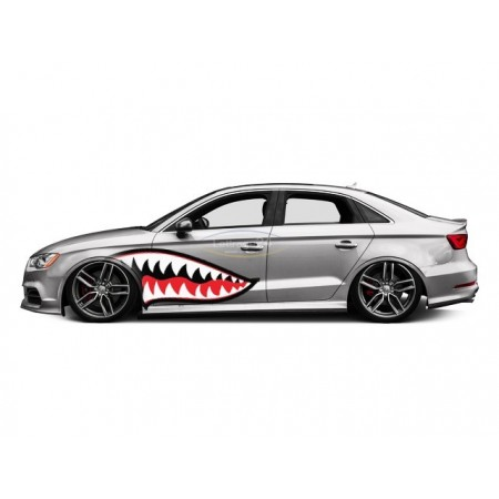 Audi RS3 Shark Mouth