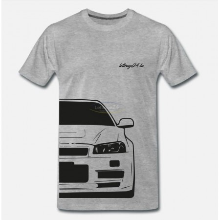 Skyline R34 front & back T-Shirt