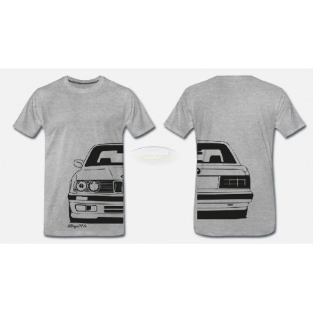 BMW E30 front & back t-shirt
