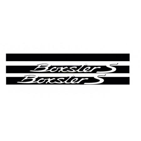 Porsche Boxster S Striping