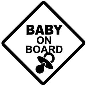 autocollants / Stickers Baby on board
